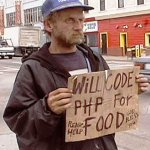 will code php for food2