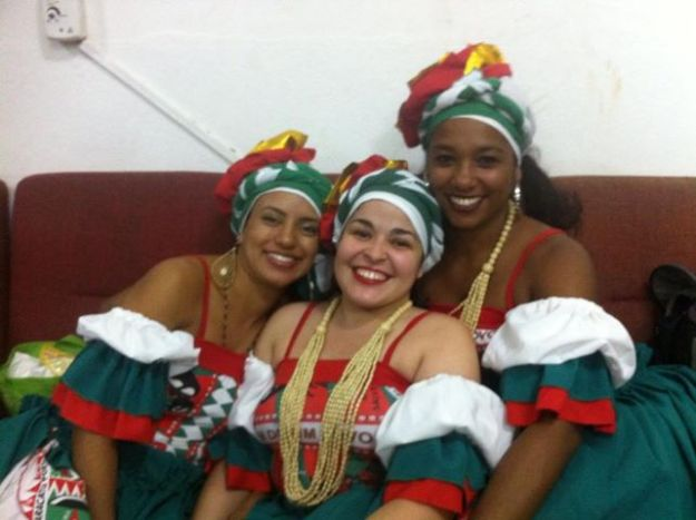 mestra Joana, Ju e Rafinha