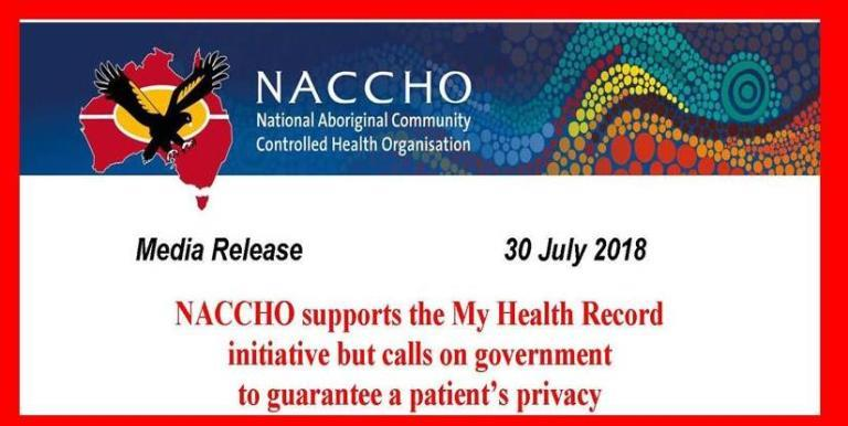 E-Health My Health Records NACCHO Aboriginal Health News Alerts