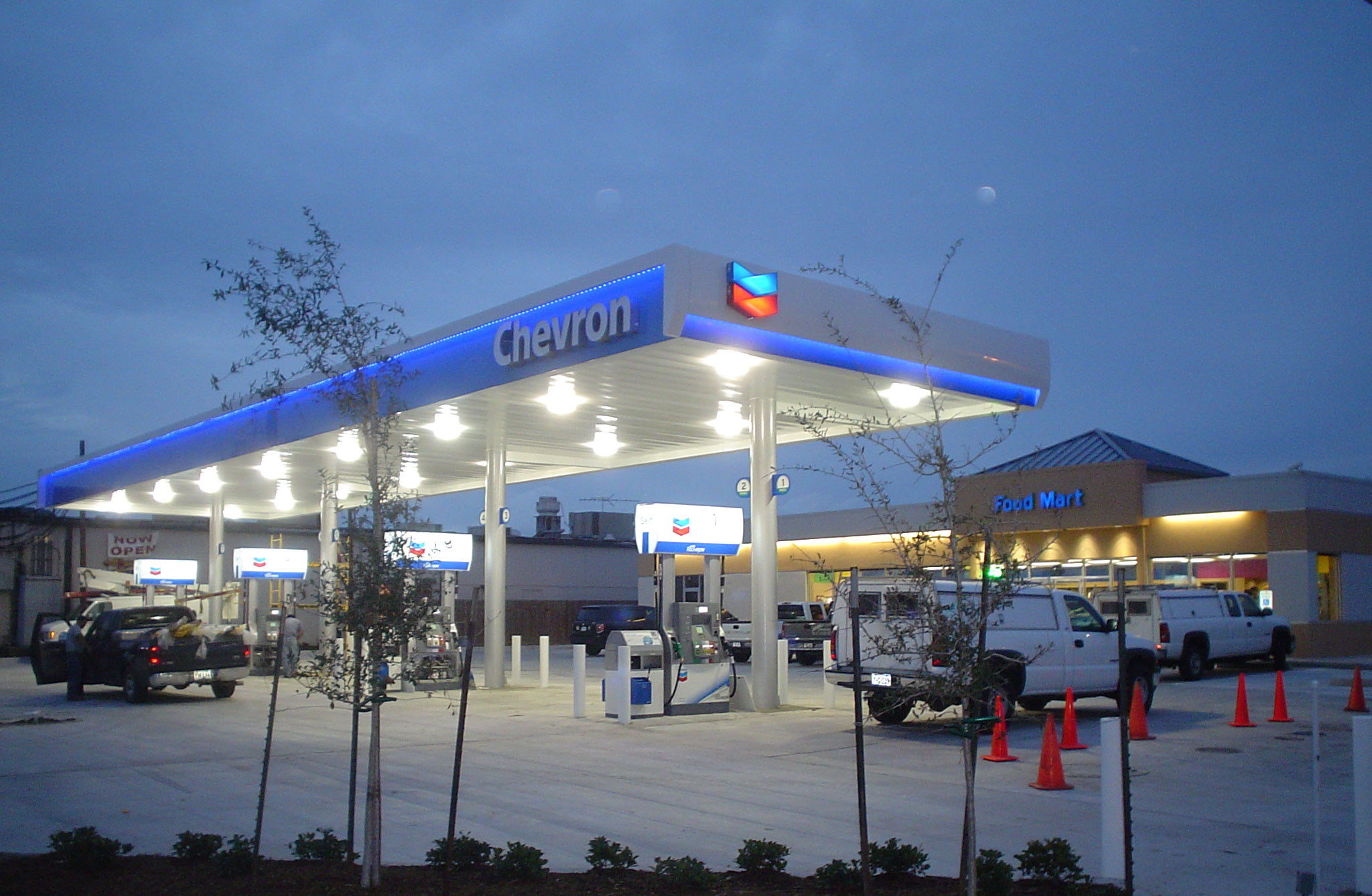 Gasoline Stations Projects Nacco