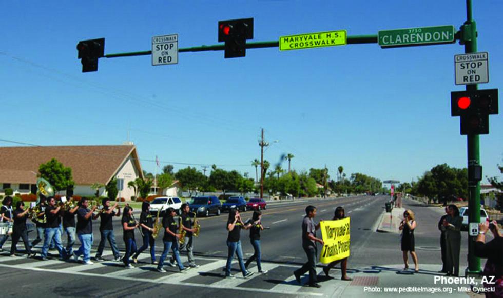 Midblock Crosswalks National Association Of City