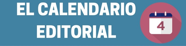 Titulo Calendario editorial