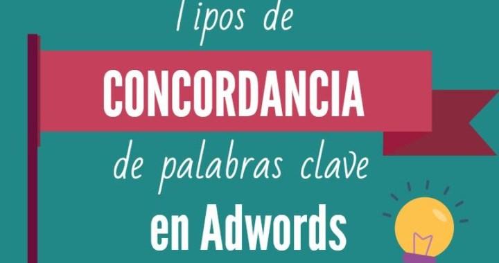 cabecera concordancias palabras clave para ppc Adwords
