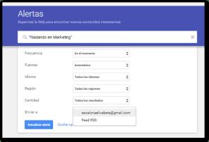 Monitorizando mi nombre con Google Alerts paso 4