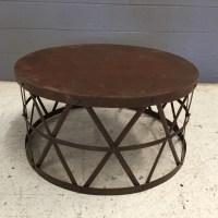 Round Metal Coffee Table - Nadeau Nashville