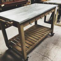 Kitchen Table on Wheels - Nadeau Birmingham