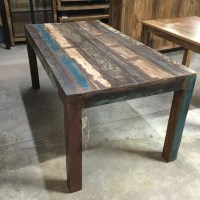 Reclaimed Wood Dining Table - Nadeau New Orleans