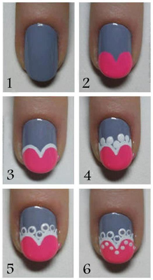Красиво накрасить короткие ногти