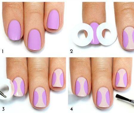 Как накрасить ногти своими руками в домашних условиях 21
