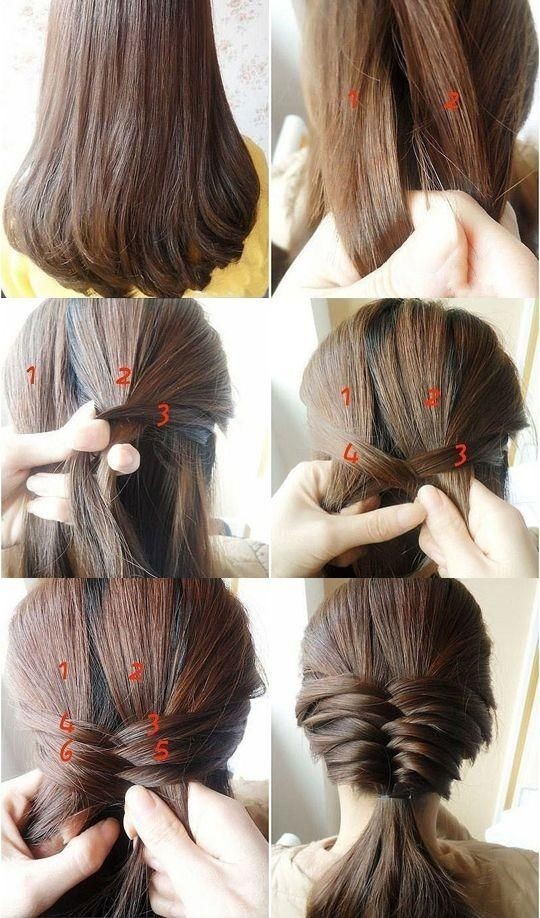 Low-Ponytail-for-Medium-Hair