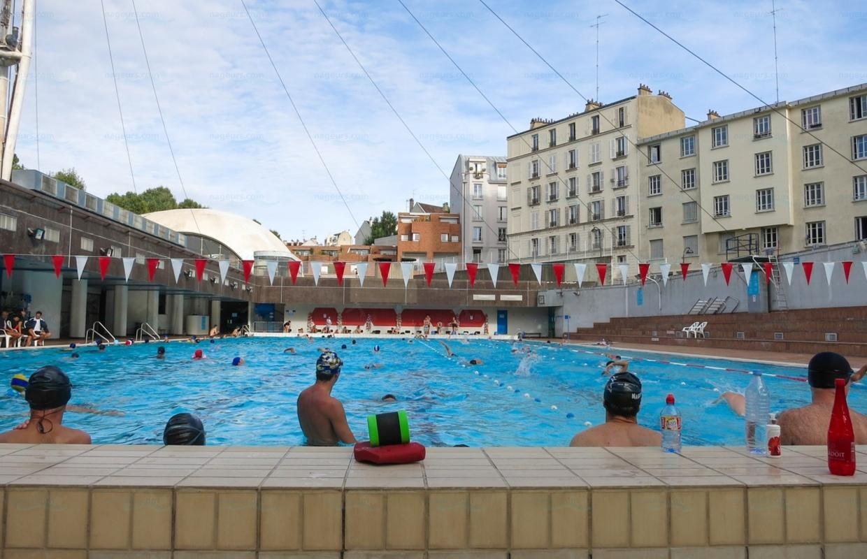 Piscine Paris Photos Piscine Georges Hermant Nageurs