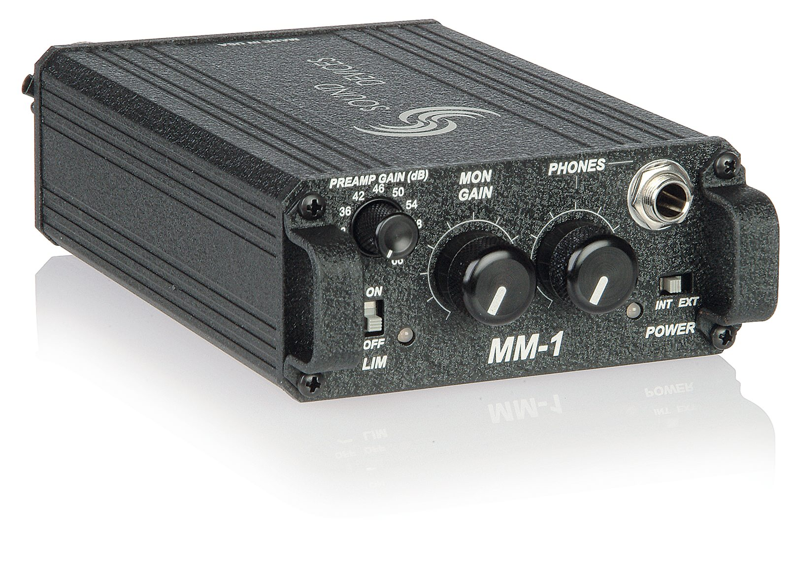 1 In Mm Sound Devices Mm 1 Preamplificatore Microfonico Sdmm1