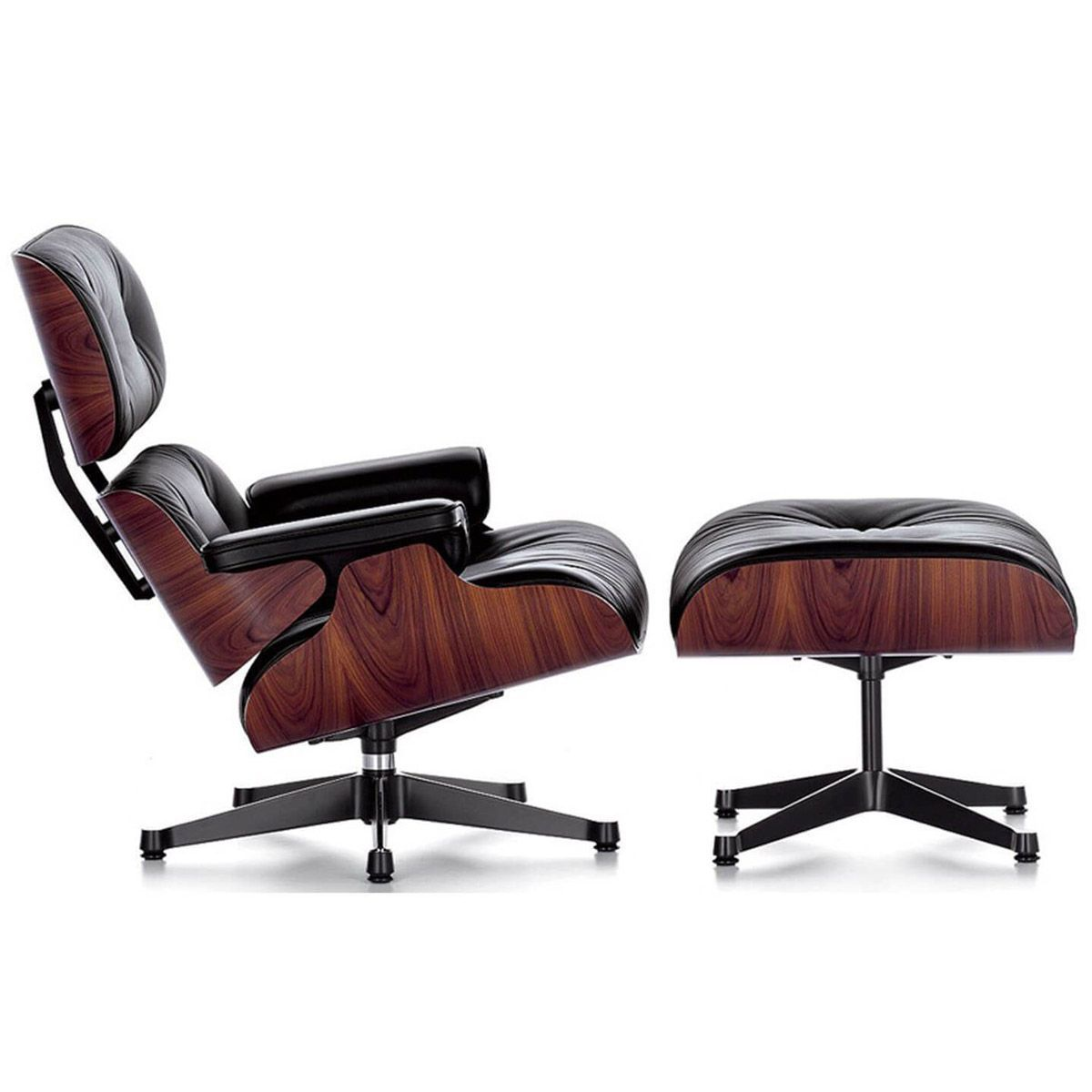 Sedie Vitra Eames Usate Lounge Chair And Ottoman Palisandro Vitra