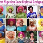 Top 100 Lace Styles and Designs: Latest Nigerian Wedding Fashion (Lace Lookbook)