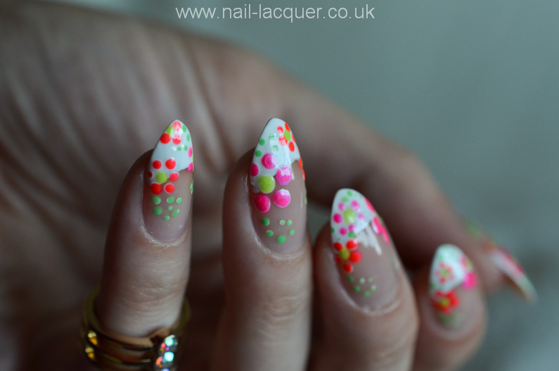 Cozy Easy Flower Nail Art Tutorial Nail Lacquer Uk Usefulresults