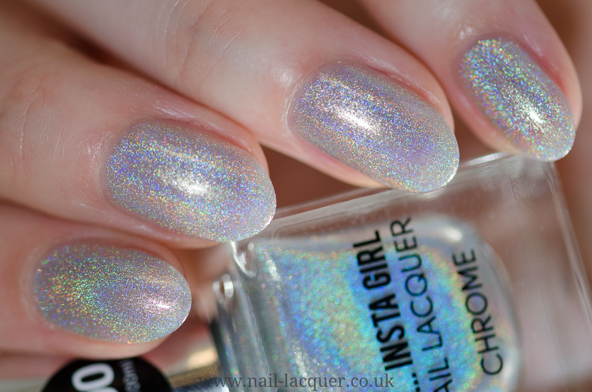 Primark Ps Insta Girl Chrome Collection Nail Lacquer Uk
