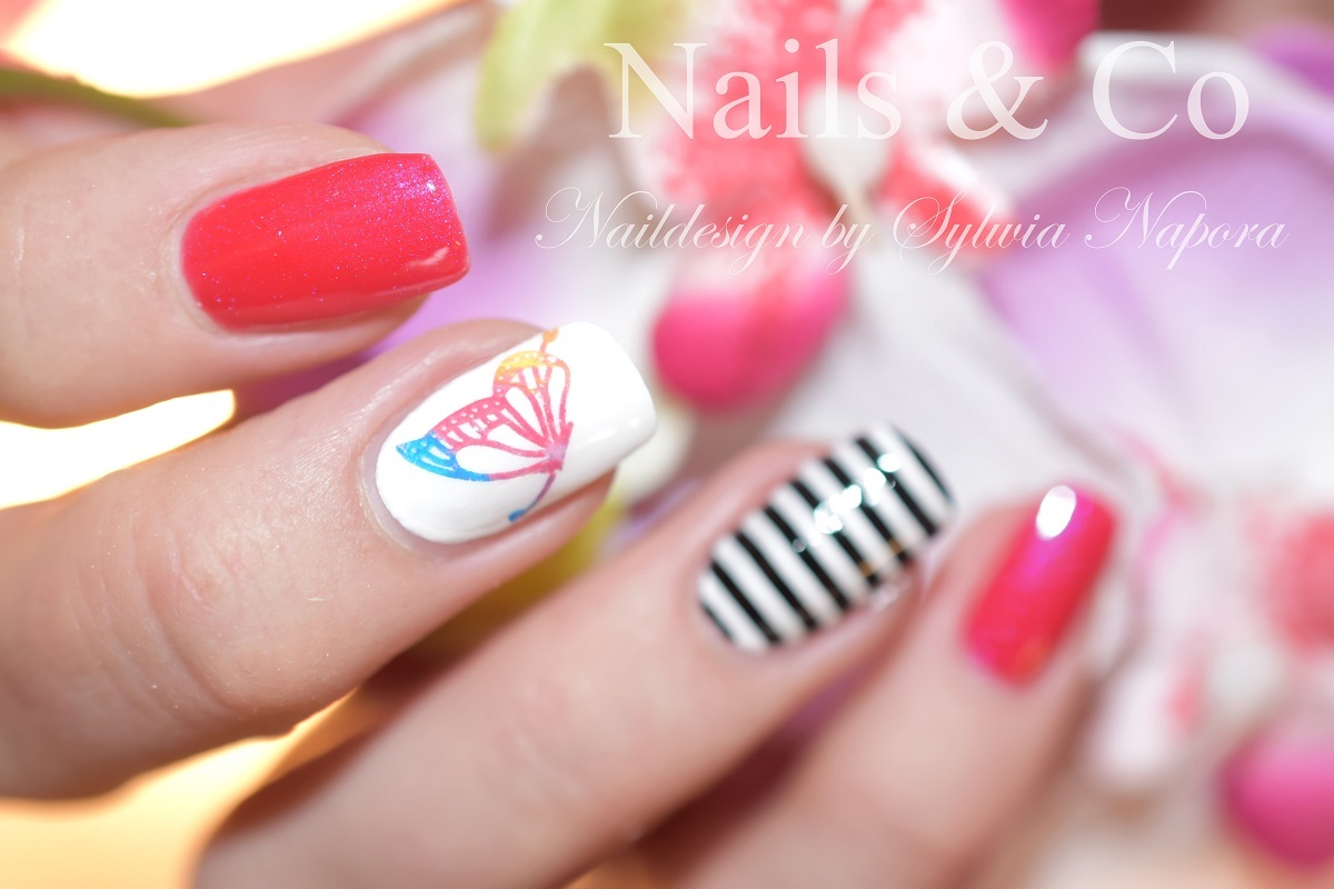Nageldesign Mit Streifen April 2018 Nailart Co