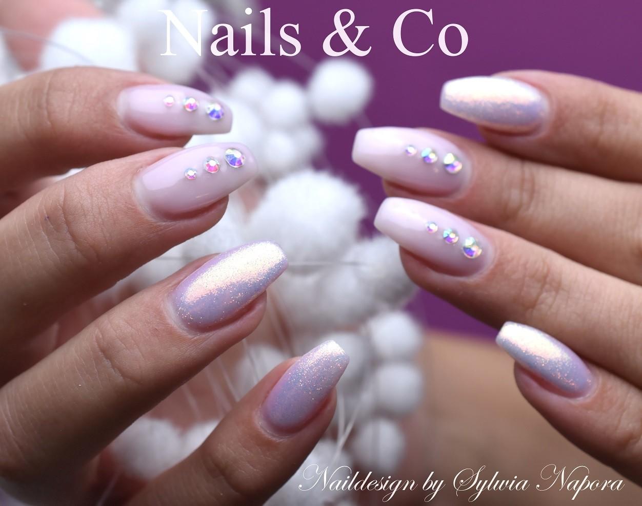 Gelnagel Trends Sommer 2018 Gelnails Nails Pastel Lilac Nailcode