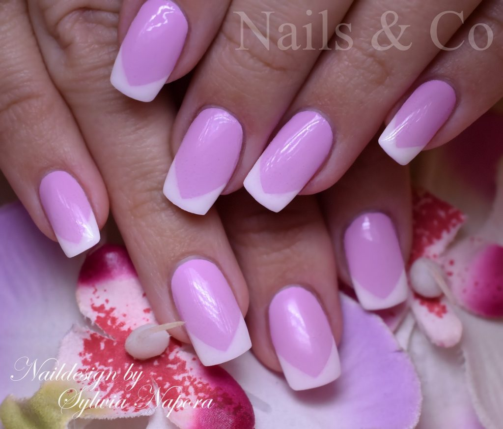 Weißes Nageldesign Ombré Nails Nailart Co