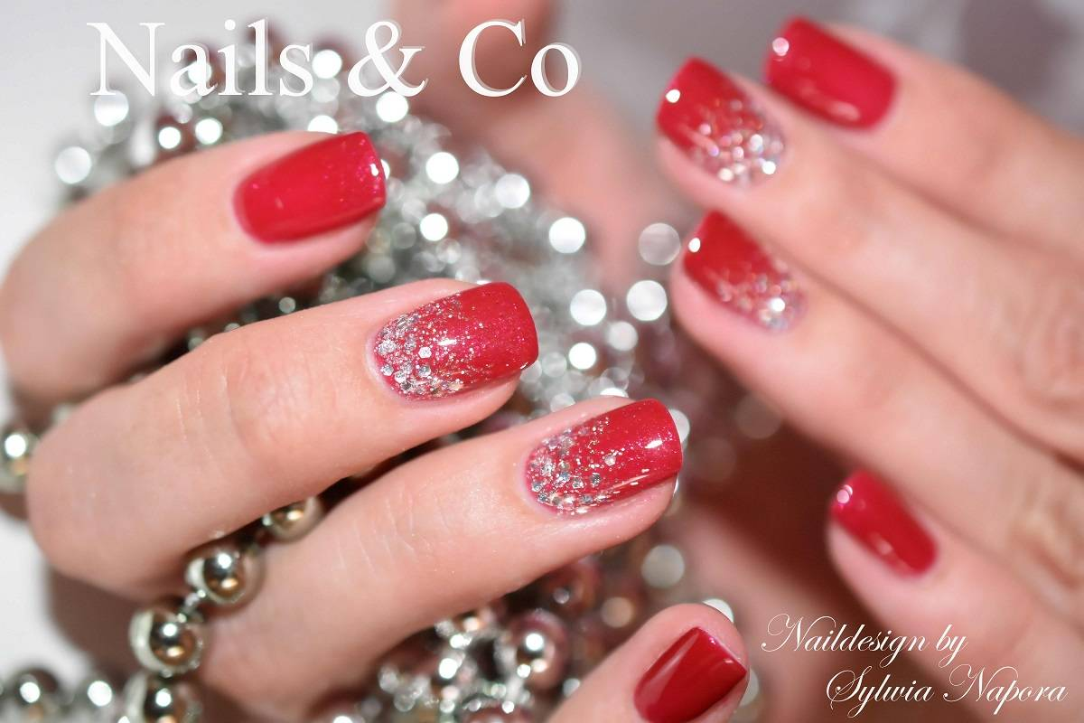 Nageldesign Weiß Rosa Nageldesign Mit Glitzer Good Naildesign Mandel Form Weiss Glitzer