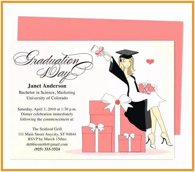 41 College Graduation Invitation Templates Nailartssravi