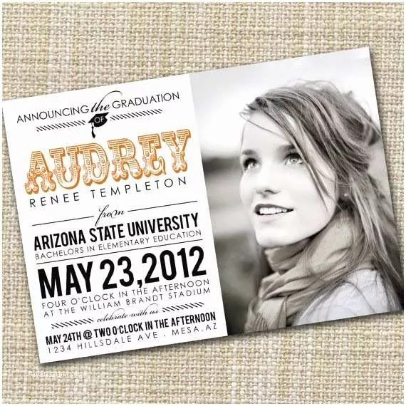 College Graduation Invitations Graduation Party Invitation College