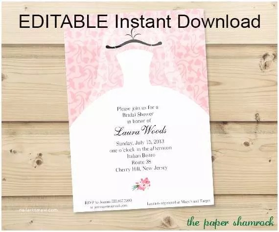 Free Editable Wedding Invitation Templates Editable Wedding