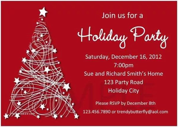 Holiday Party Invitation Template Holiday Party Invitation Template