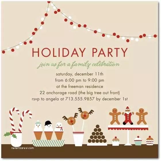 Office Christmas Party Invitations Fice Holiday Party Invitation