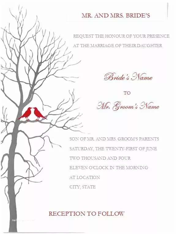 Postcard Wedding Invitations Template Details Card Template