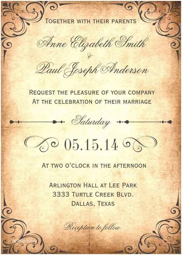 Wedding Invitation Both Parents Wording Samples Designs Wedding