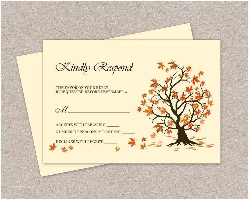 Wedding Invitation Response Card Rsvp Cards Wedding Cards