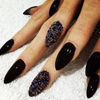 50 Boldest Black Nail Designs to Stand Out of The Crowd
