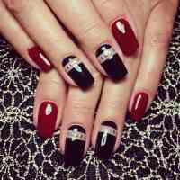 40 Stunning Red & Black Nail Designs You'll Love to Try