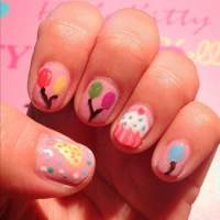 35 Festive Birthday Nail Designs We Love  NailDesignCode