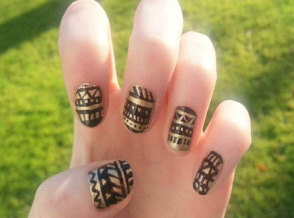Black And Gold Nail Designs 31 Fabulous Ways To Rock39em