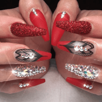 70 Red Nail Designs To Fall In Love With  NailDesignCode