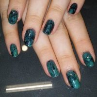 25 Dazzling Turquoise & Butterfly Nail Designs