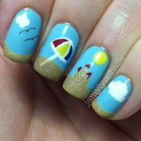 20 Breezy Beach Nail Designs to Try This Summer