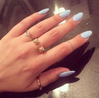 70 Oval Shaped Acrylic Nail Designs for Nail Lovers