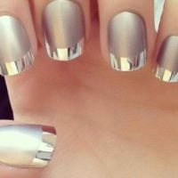 20 Dramatic Two Tone Nails to Take Over Instgram ...