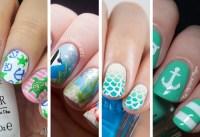 Beach Inspired Nail Art Designs | Nail Designs