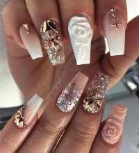 14 Glam Prom Nails You Should Check   Nail Designs