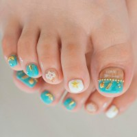 Fabulous Toe Nails Designs To Try | NailDesignsJournal