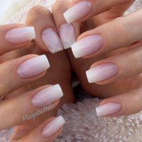 Ombre Gel Nails - Nail Ftempo