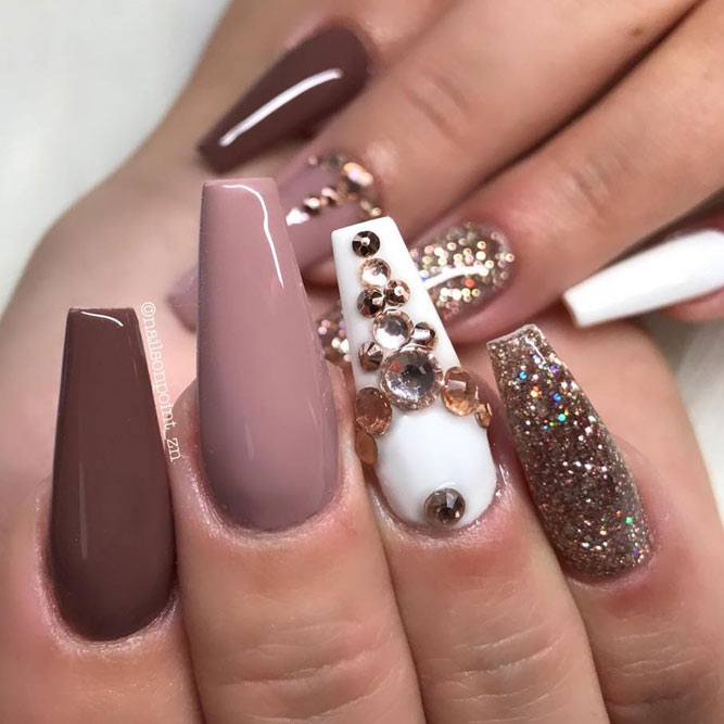 27 Fall Nails Designs For Your Wedding NailDesignsJournal