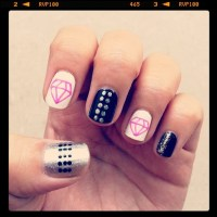 Diamond Nail Designs & Ideas | Nail Designs Mag