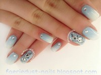 Olaf Inspired Nail Art (Frozen) nail art by Shirley X ...