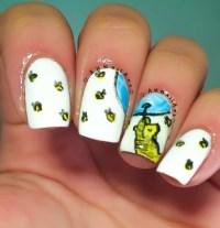 Winnie The Pooh Nails nail art by AH Nail Art - Nailpolis ...