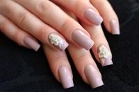 Acrylic flowers nail art by Yue - Nailpolis: Museum of ...